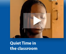 Quiet Time inthe classroom