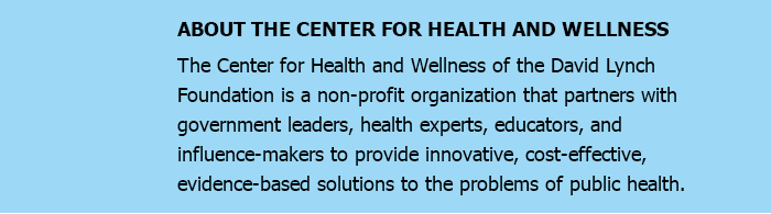 ABOUT THE CENTER FOR HEALTH AND WELLNESS