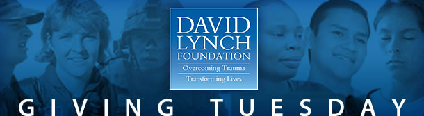 David Lynch Foundation: Giving Tuesday