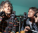 Wayne Coyne & Steved Drozd of The Flaming Lips